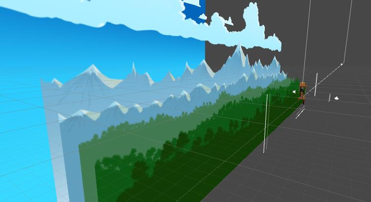 Parallax Scrolling Background – Andulf Games®